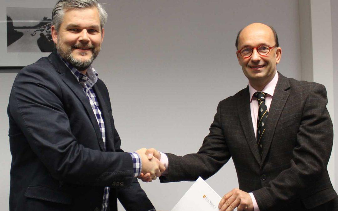 Samenwerking Nyenrode en Stichting Future Finance